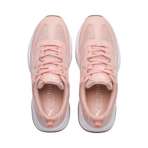 Thumbnail 6 of Cilia Women's Sneakers, Peach Bud-White-Silver-Gum, medium