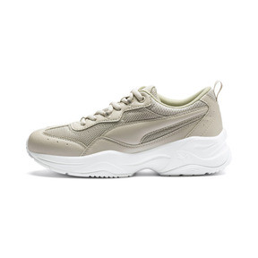 Thumbnail 1 of Cilia Women's Trainers, Silver Gray-Silver-White, medium