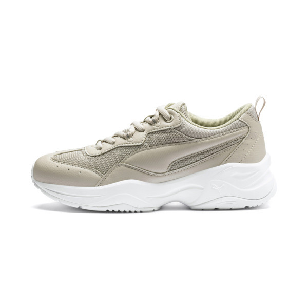 Cilia Women's Trainers, Silver Gray-Silver-White, large