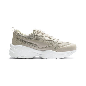 Thumbnail 5 of Cilia Women's Trainers, Silver Gray-Silver-White, medium
