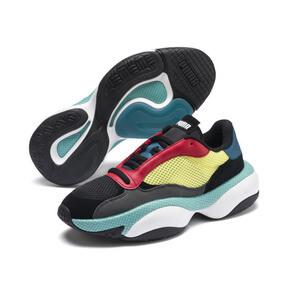 Miniatura 2 de Zapatos deportivos Alteration Kurve, Puma Black-Limelight, mediano
