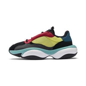 Miniatura 1 de Zapatos deportivos Alteration Kurve, Puma Black-Limelight, mediano