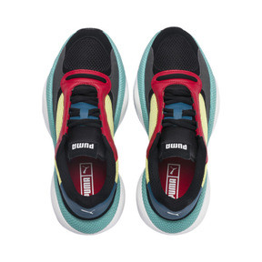 Miniatura 6 de Zapatos deportivos Alteration Kurve, Puma Black-Limelight, mediano