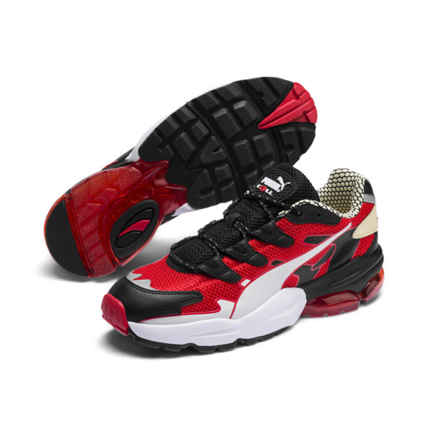 Scarpe da ginnastica CELL Alien Kotto, High Risk Red-Puma Black, Grande