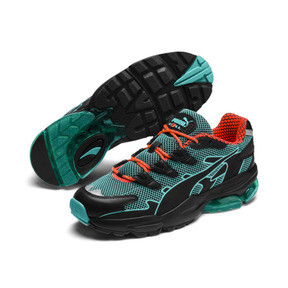 Anteprima 3 di CELL Alien Kotto Trainers, Puma Black-Blue Turquoise, medio
