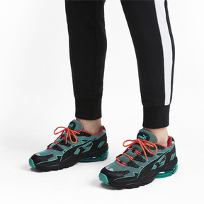 Thumbnail 2 of CELL Alien Kotto Sneakers, Puma Black-Blue Turquoise, medium