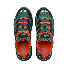 Anteprima 7 di CELL Alien Kotto Trainers, Puma Black-Blue Turquoise, medio
