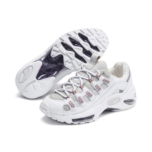 CELL Endura Rebound Trainers, Puma White-Bridal Rose, large