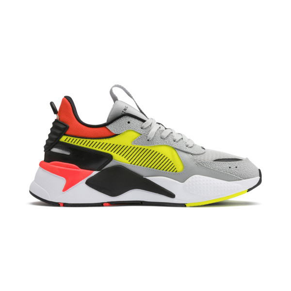 RS-X Hard Drive Sneakers, High Rise-Yellow Alert, large