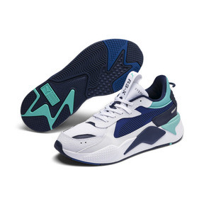 Thumbnail 2 of RS-X Hard Drive Sneakers, Puma White-Galaxy Blue, medium