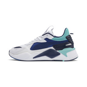 Thumbnail 1 of RS-X Hard Drive Sneakers, Puma White-Galaxy Blue, medium