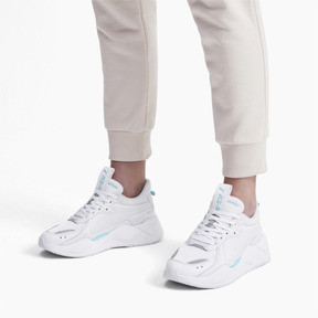 Thumbnail 2 of RS-X Softcase Trainers, Puma White-Milky Blue, medium