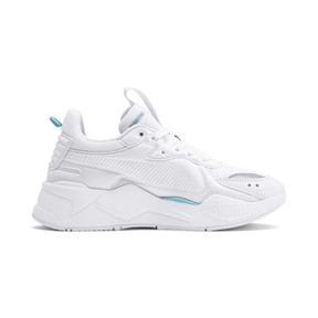 Thumbnail 6 of RS-X Softcase Trainers, Puma White-Milky Blue, medium