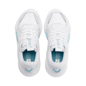 Thumbnail 7 of RS-X Softcase Trainers, Puma White-Milky Blue, medium