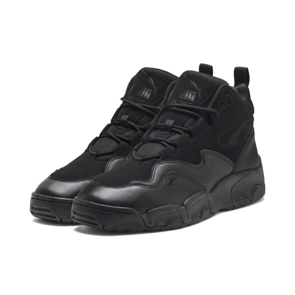 Source Mid Sneakers, Puma Black, large