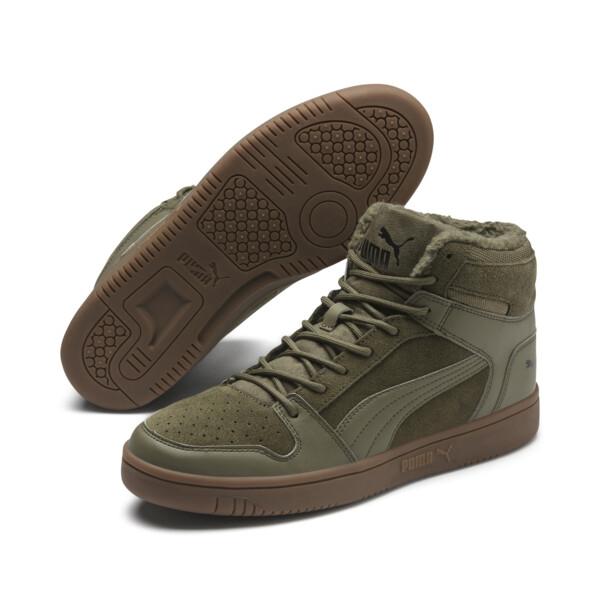 Sneakersy PUMA Rebound LayUp SD Fur 369831 03 Burnt OlivePuma BlackGum