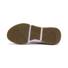 Thumbnail 5 of Nova V Leather Damen Sneaker, Pastel Parchment-P.Team Gold, medium