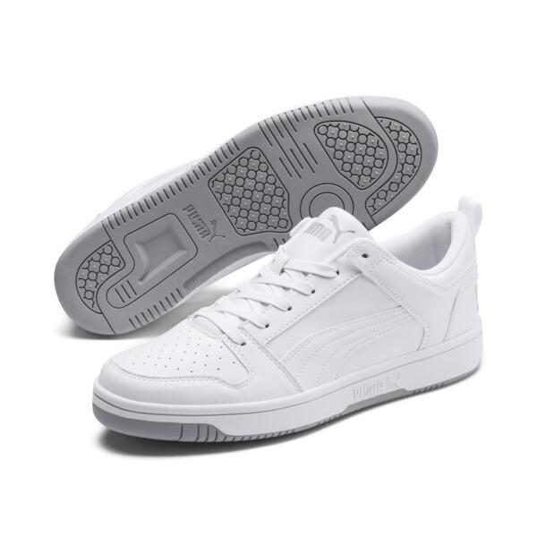 Zapatos deportivos PUMA Rebound LayUp Lo, Puma White-High Rise, grande