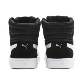 Thumbnail 4 of PUMA Vikky v2 Mid Women's Sneakers, Puma Black-White-Silver-Pink, medium