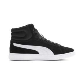 Thumbnail 6 of PUMA Vikky v2 Mid Women's Sneakers, Puma Black-White-Silver-Pink, medium