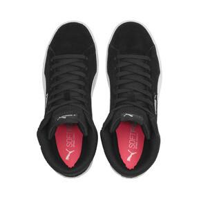 Thumbnail 7 of PUMA Vikky v2 Mid Women's Sneakers, Puma Black-White-Silver-Pink, medium