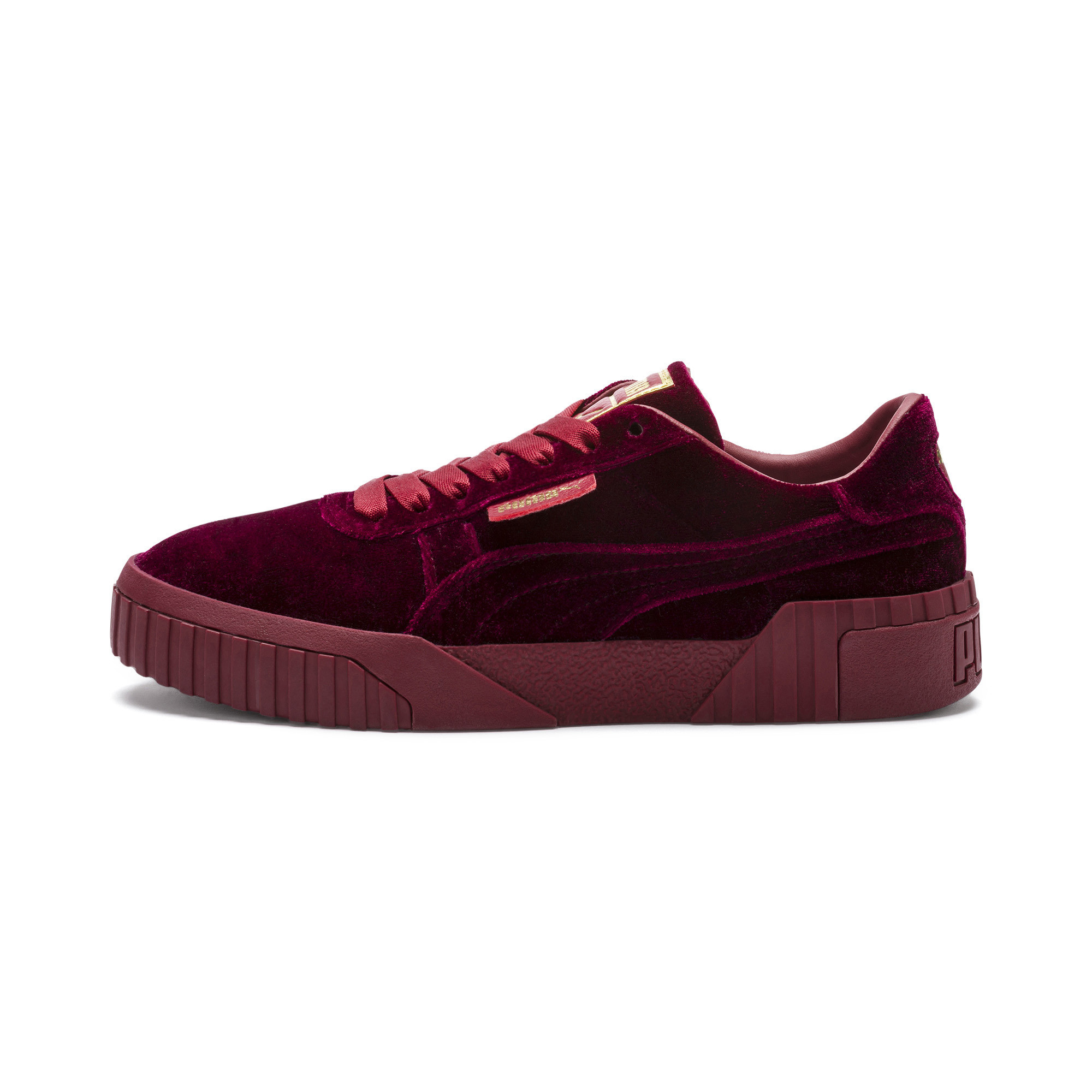 PUMA-Cali-Velvet-Women-039-s-Sneakers-Women-Shoe-Evolution thumbnail 10