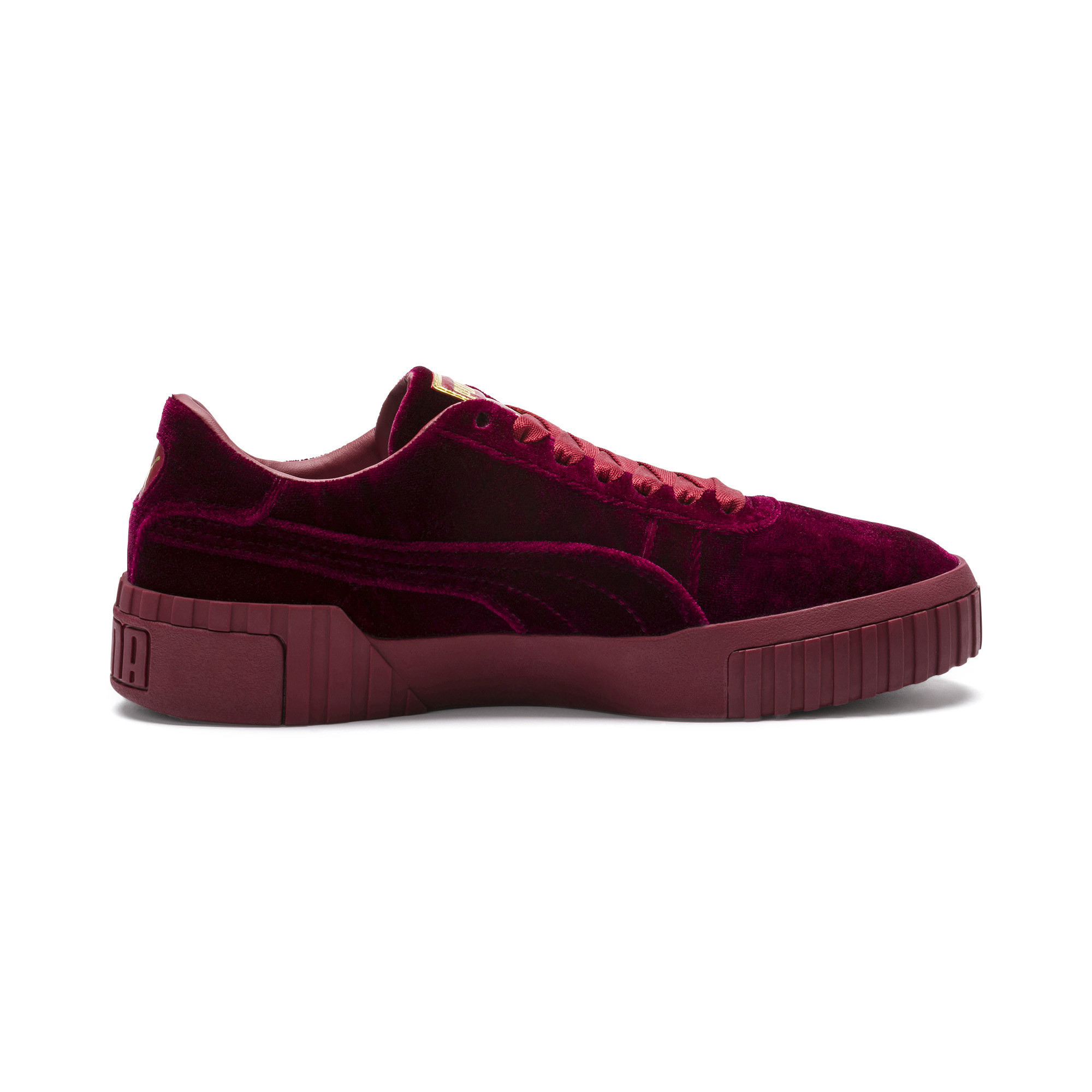 PUMA-Cali-Velvet-Women-039-s-Sneakers-Women-Shoe-Evolution thumbnail 12