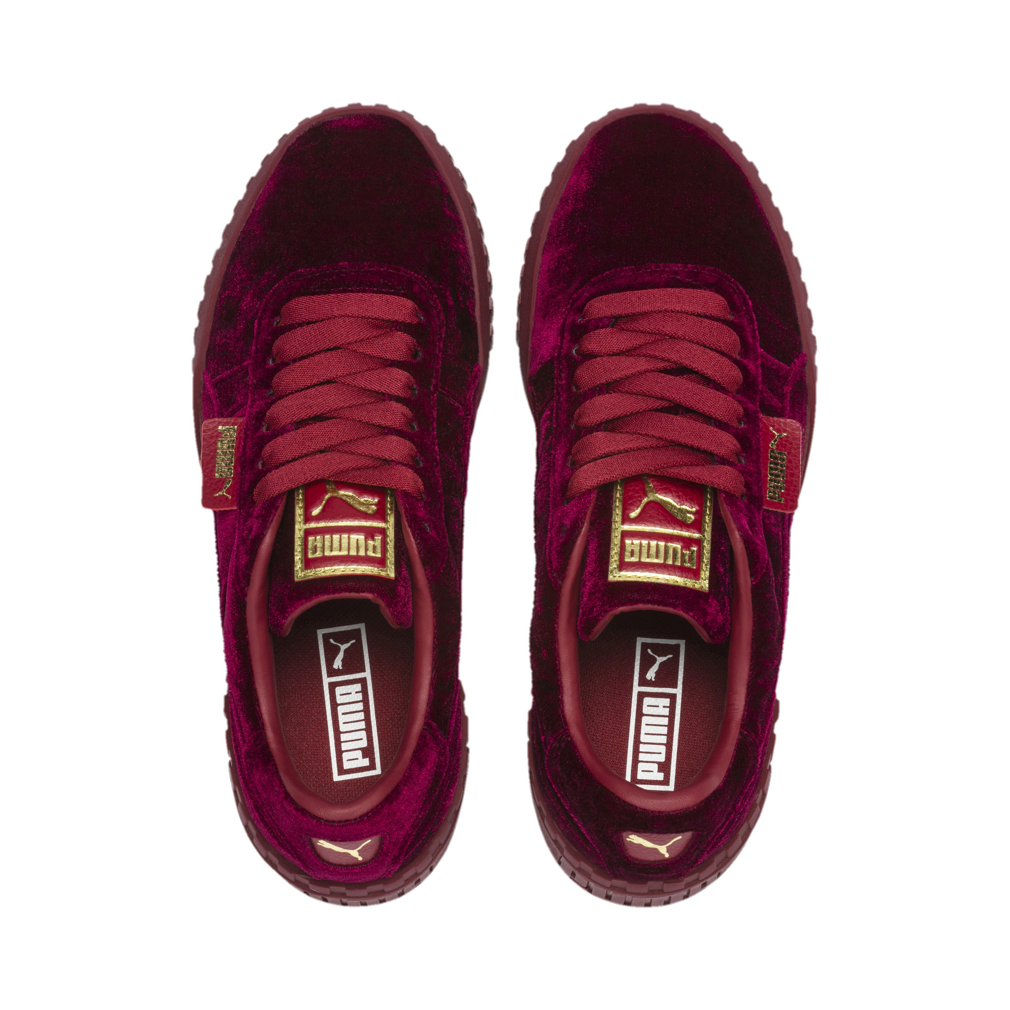 PUMA-Cali-Velvet-Women-039-s-Sneakers-Women-Shoe-Evolution thumbnail 13