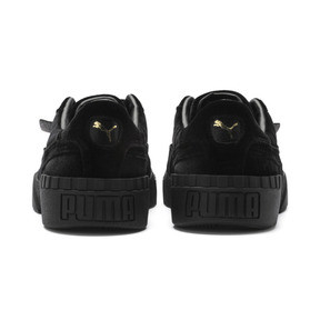 Thumbnail 4 of Cali Velvet Women's Sneakers, Puma Black-Puma Black, medium
