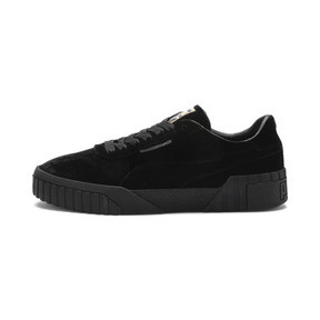 Thumbnail 1 of Cali Velvet Women's Sneakers, Puma Black-Puma Black, medium