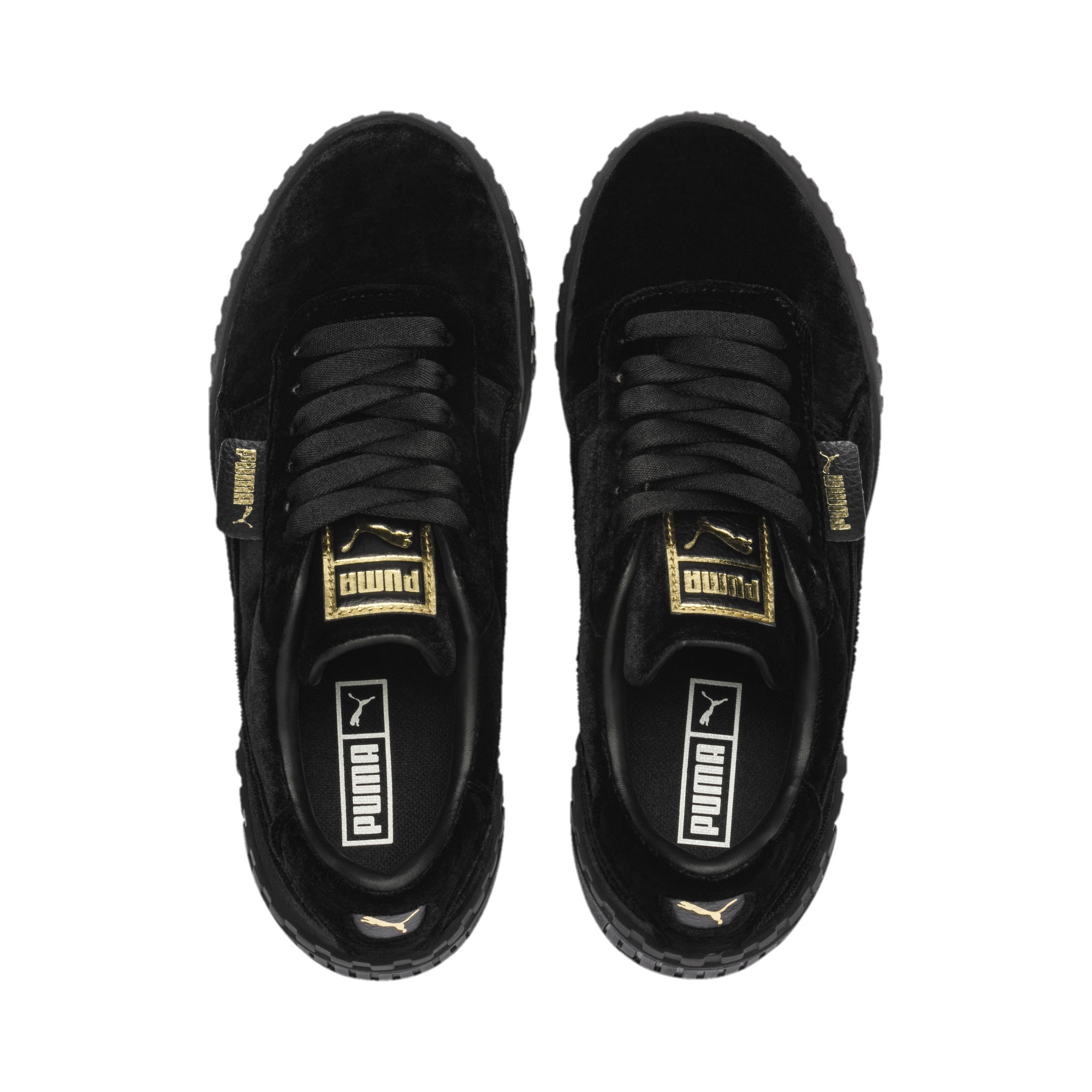 PUMA-Cali-Velvet-Women-039-s-Sneakers-Women-Shoe-Evolution thumbnail 7