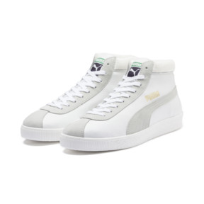Thumbnail 3 of Basket '68 Mid Trainers, Puma White, medium