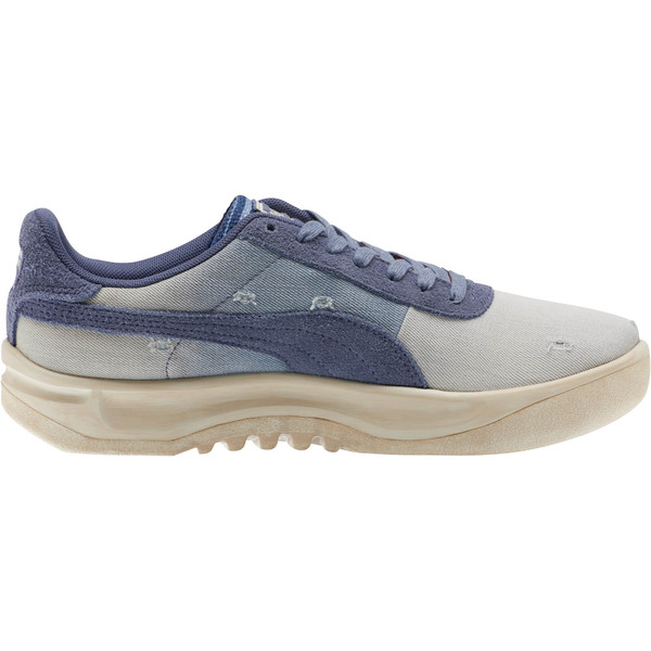 California Dark Vintage Sneakers, Blue Indigo-Birch, large