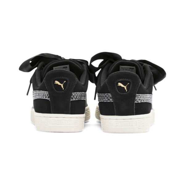 1ec8b3d7ea Suede Heart Snake Lux Women's Sneakers