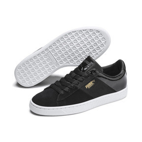 Thumbnail 3 of Chaussure Basket Remix pour femme, Puma Black-Puma Team Gold, medium