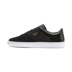 Thumbnail 1 of Chaussure Basket Remix pour femme, Puma Black-Puma Team Gold, medium
