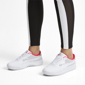 Thumbnail 3 of California Remix Women's Sneakers, Puma White-Puma Black, medium