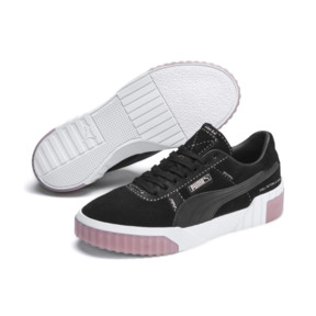 Thumbnail 3 of Cali Patternmaster Damen Sneaker, Puma Black, medium