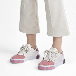 Thumbnail 2 of Cali Remix Damen Sneaker, Pastel Parchment-Bridal Rose, medium