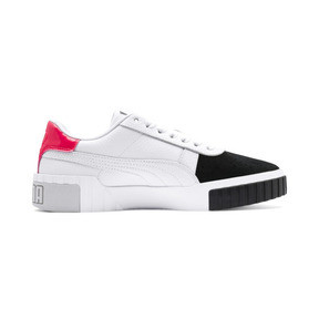 Thumbnail 6 of Cali Remix Women's Trainers, Puma White-Puma Black, medium