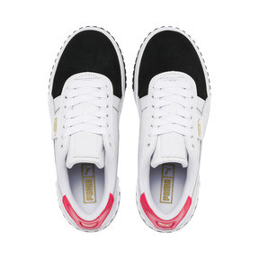 Thumbnail 7 of Cali Remix Women's Trainers, Puma White-Puma Black, medium