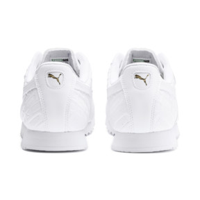 Thumbnail 4 of Roma Reinvent Women's Trainers, Puma White-Puma Team Gold, medium