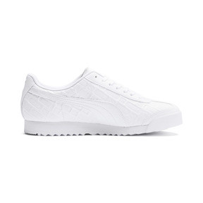 Thumbnail 6 of Roma Reinvent Women's Sneakers, Puma White-Puma Team Gold, medium
