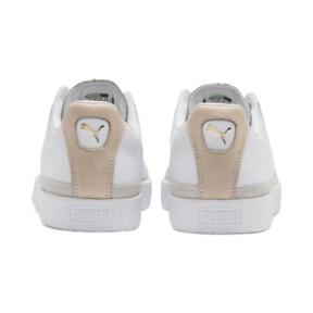 Thumbnail 4 of Basket Trim Block Sneakers, P Wht-P Wht-Puma Team Gold, medium