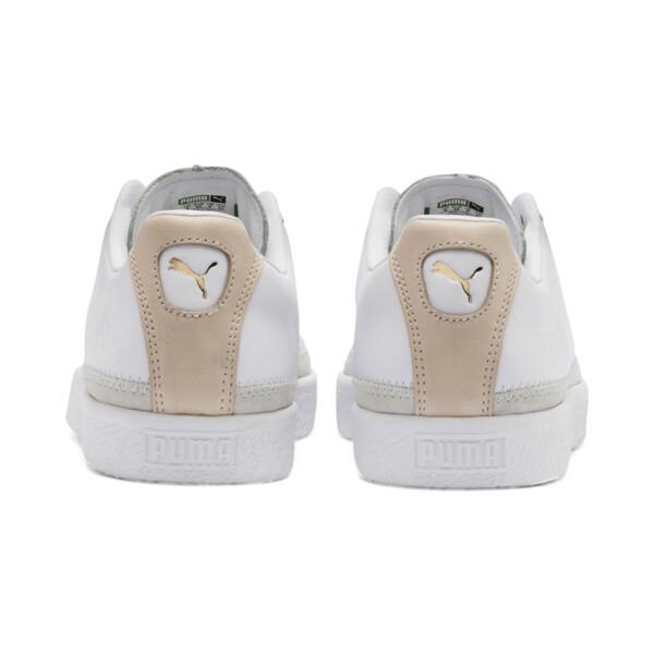 Basket Trim Block Sneakers, P Wht-P Wht-Puma Team Gold, large