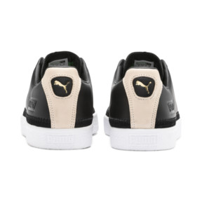 Thumbnail 4 of Basket Trim Block Sneakers, P Blk-Puma Team Gold-P Wht, medium