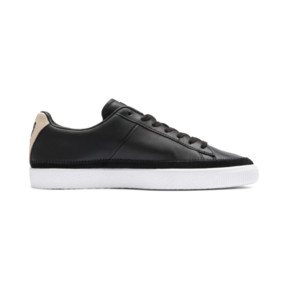 Thumbnail 6 of Basket Trim Block Sneakers, P Blk-Puma Team Gold-P Wht, medium