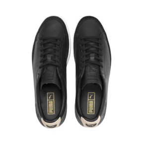 Thumbnail 7 of Basket Trim Block Sneakers, P Blk-Puma Team Gold-P Wht, medium