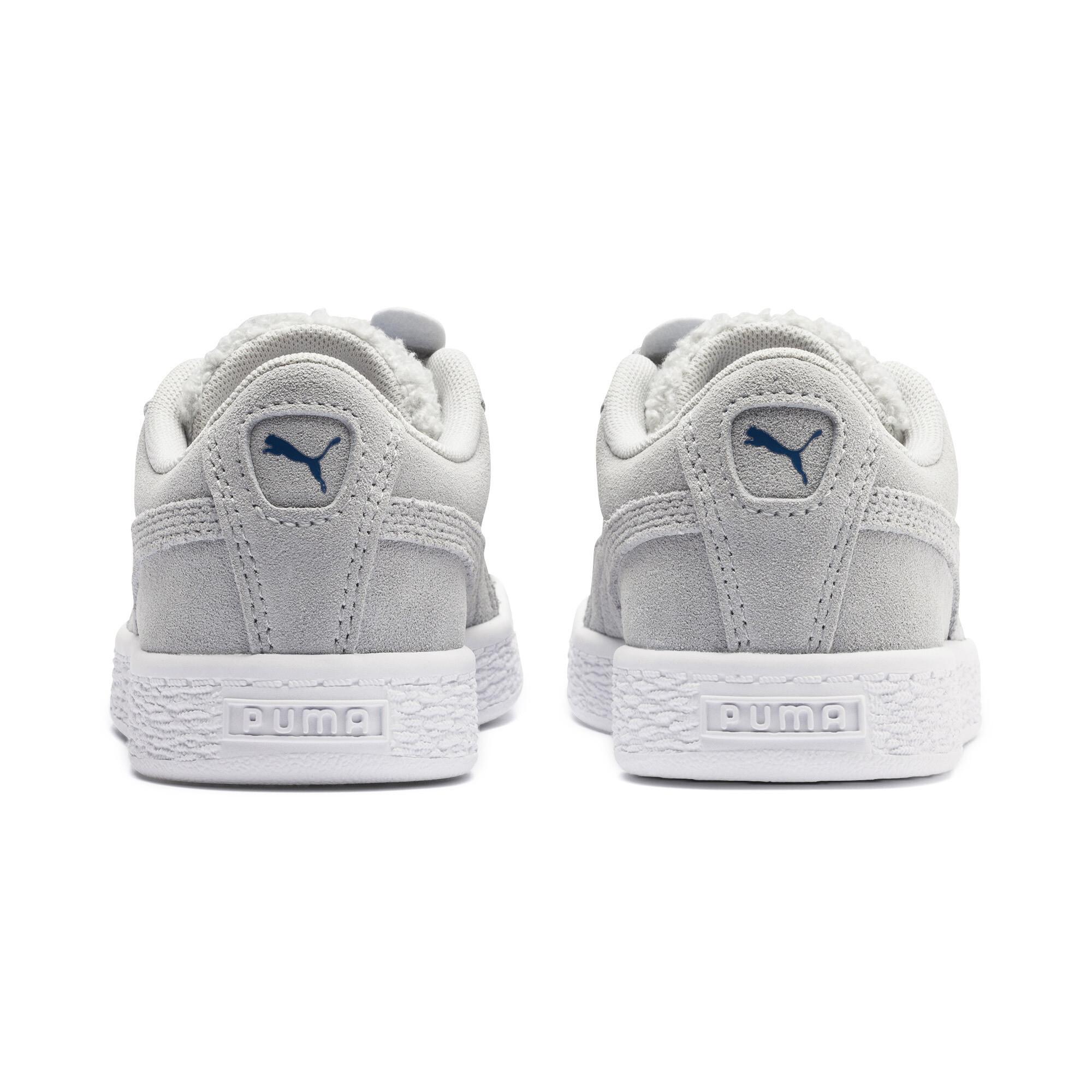 PUMA-Suede-Winter-Monster-Little-Kids-039-Shoes-Kids-Shoe-Kids thumbnail 10