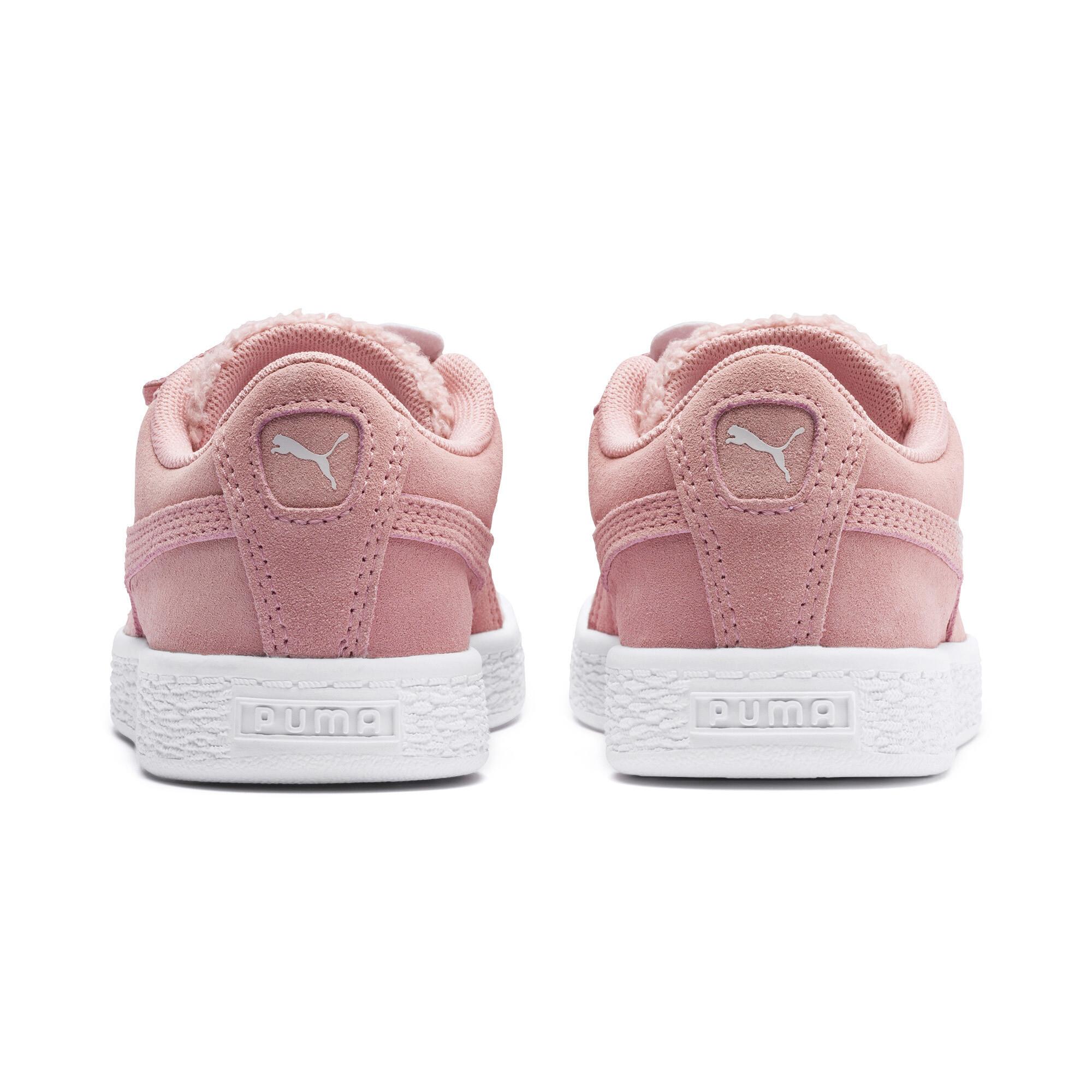 PUMA-Suede-Winter-Monster-Little-Kids-039-Shoes-Kids-Shoe-Kids thumbnail 3